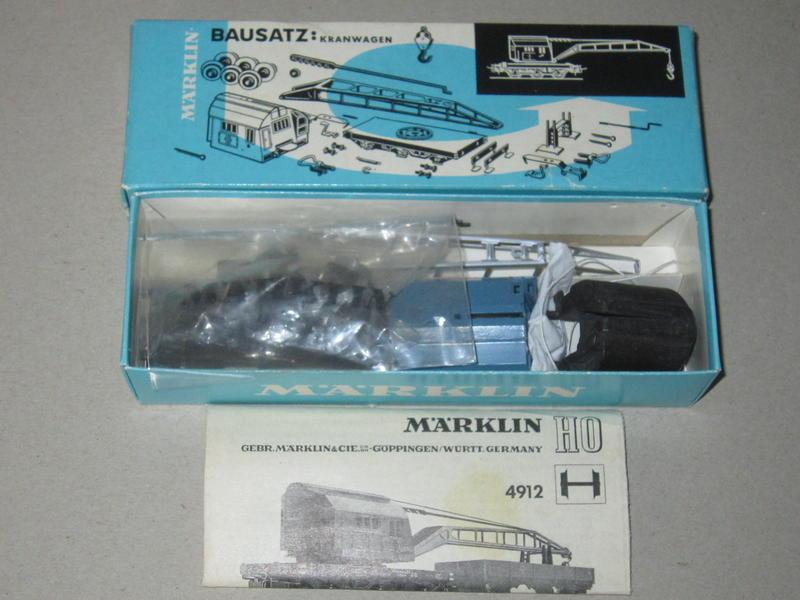 Märklin Bausatz Kranwagen – 4912