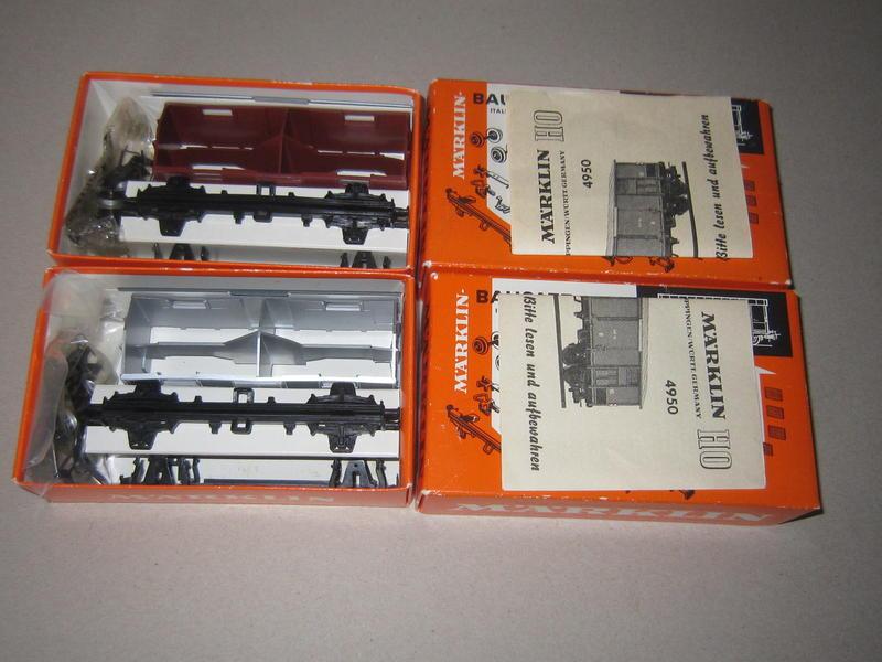 italienische Güterwagen 4950