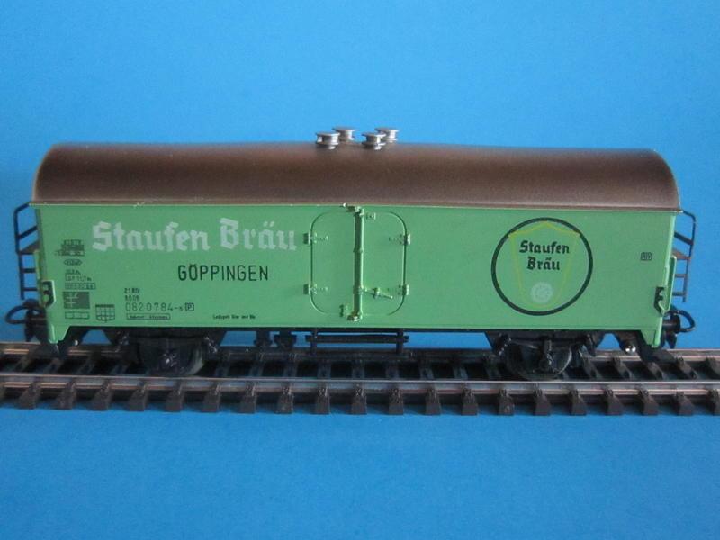 """4934 – Bausatz, Bierwagen, """"Staufen Bräu"""""""