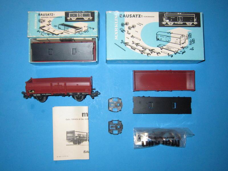 4902 – Bausatz, offener Güterwagen 4602