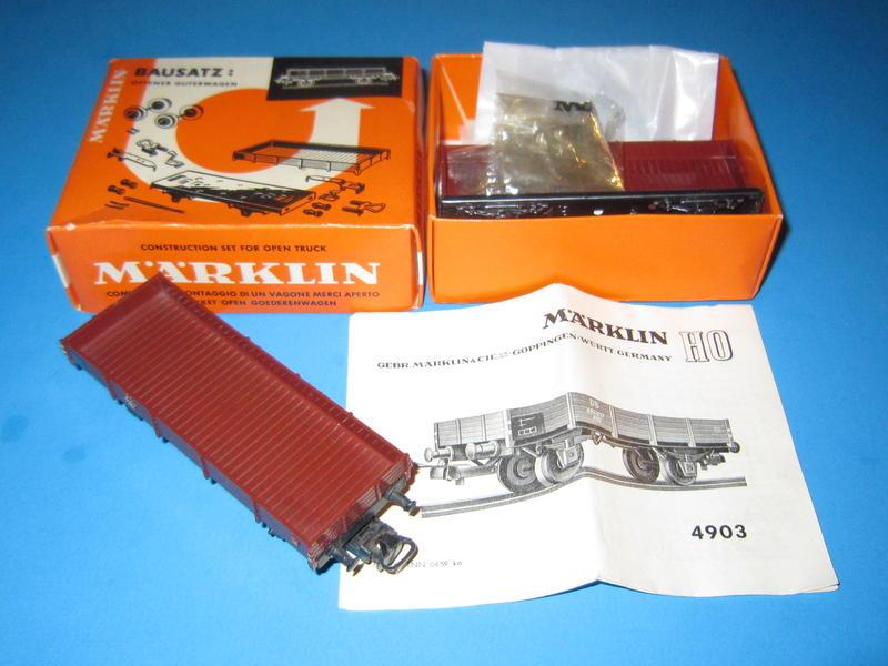 4903 – Bausatz, Niederbordwagen, 4503