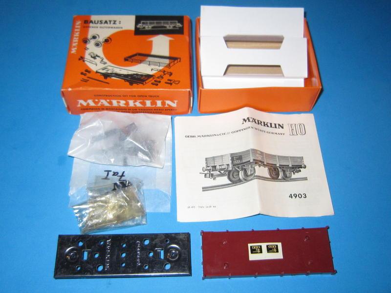 Märklin 4903 – Bausatz, Niederbordwagen, 4503