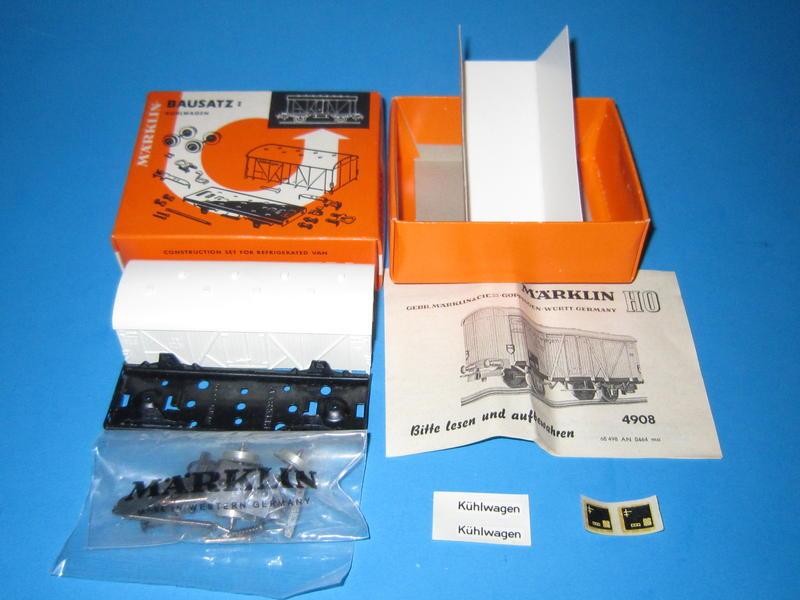 Märklin 4908 – Bausatz, Kühlwagen 4508