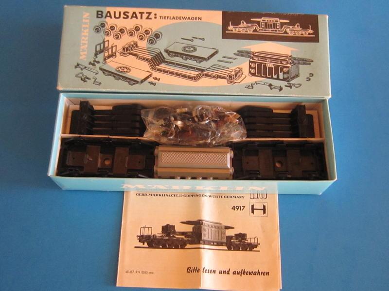 4917 – Bausatz, Tieflader mit Transformator 4617