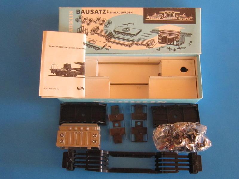 Märklin 4917 – Bausatz, Tieflader mit Transformator 4617
