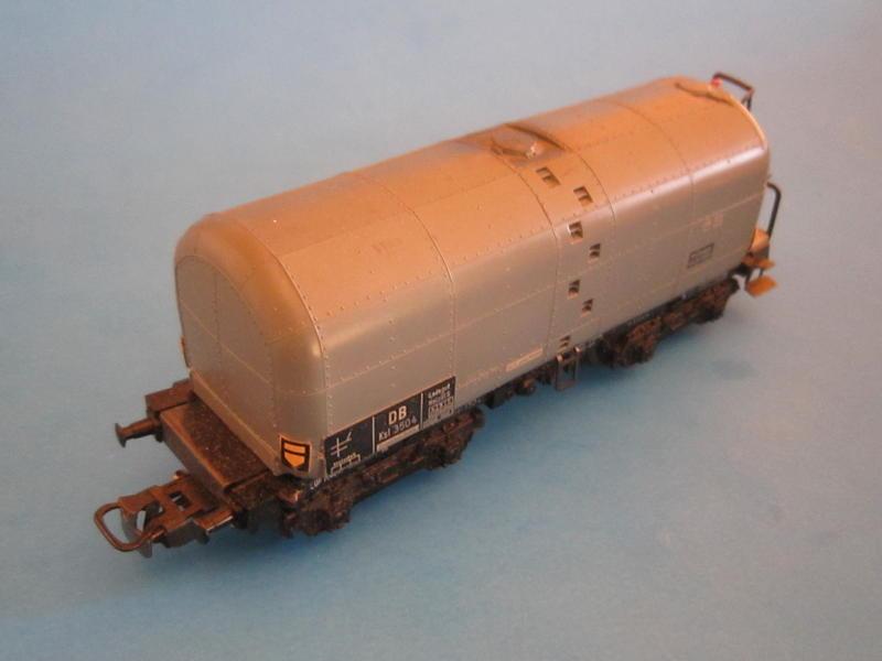 Märklin 4921 – Bausatz, Großraumkesselwagen 4621