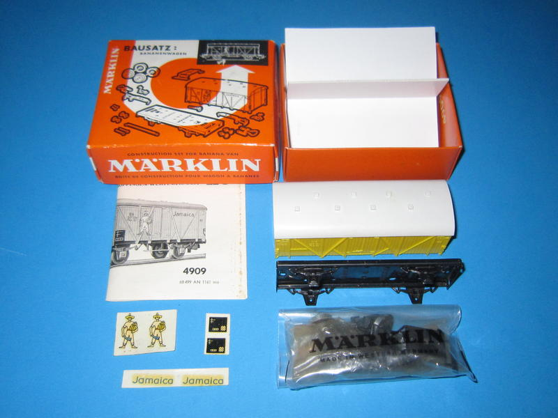 Märklin 4909 – Bausatz, Bananenwagen 4509