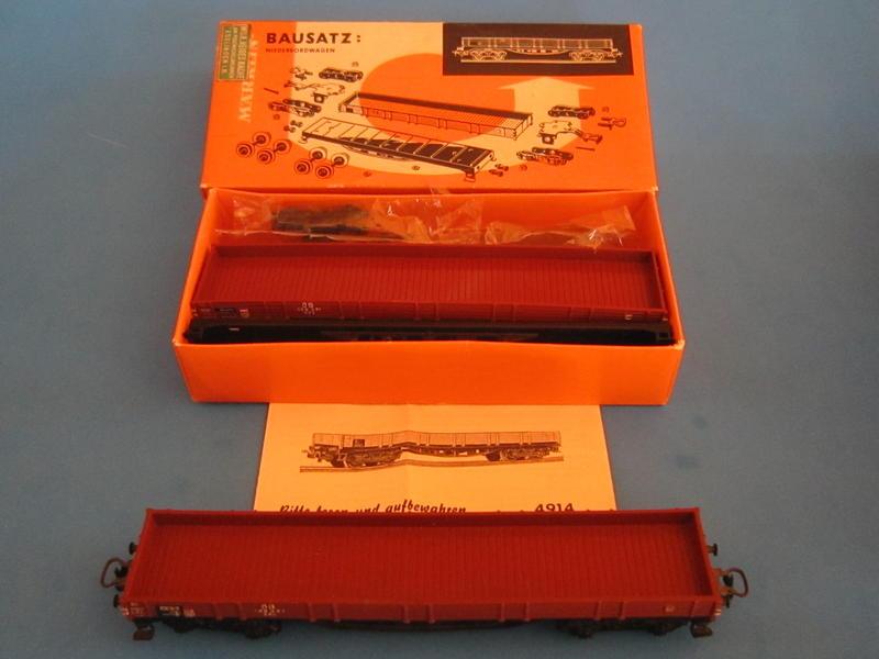 4914 – Bausatz, Niederbordwagen 4514