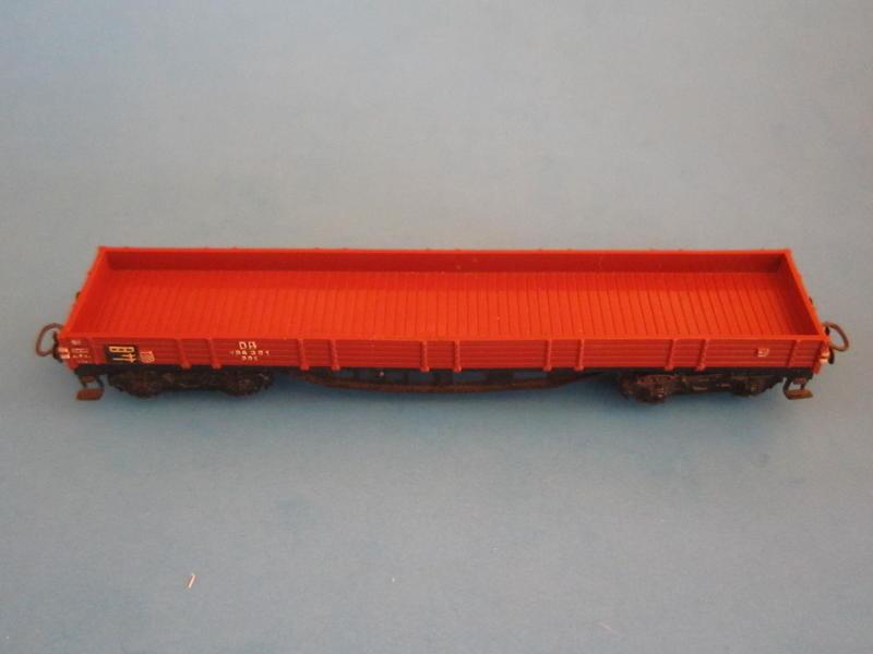 Märklin 4914 – Bausatz, Niederbordwagen 4514