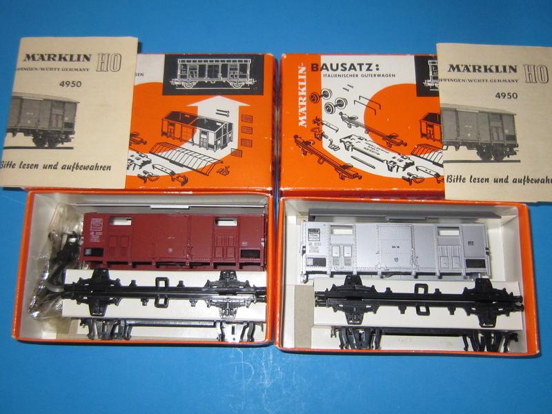 4950 – Bausatz, italienischer Güterwagen 4550