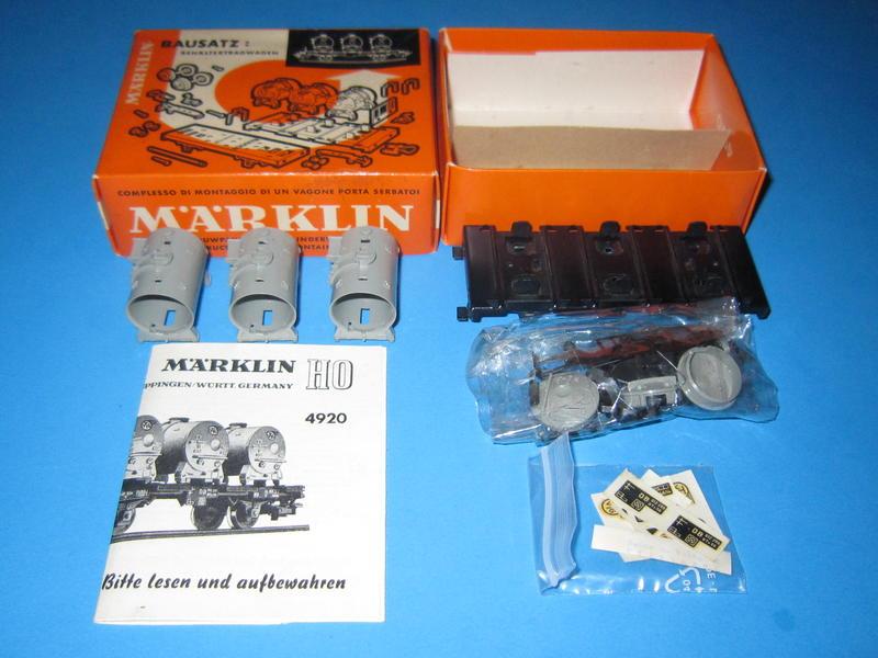 Märklin 4920 – Bausatz, Behälterwagen 4520, VTG