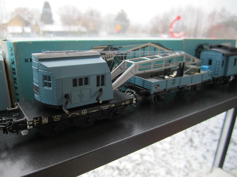 Märklin Kranwagen 4611
