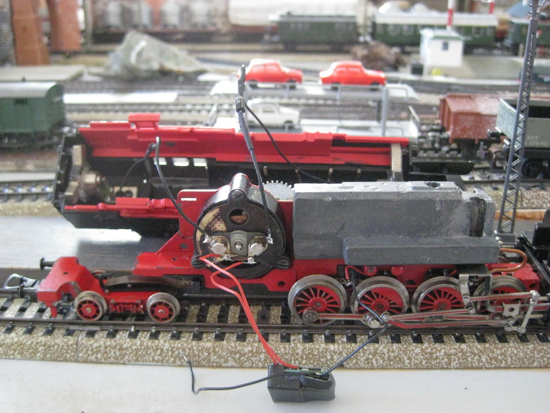 BR 65 Fleischmann 1324 Umbau für Märklin