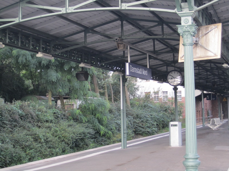 Meine Eisenbahn-Heimatstadt Darmstadt