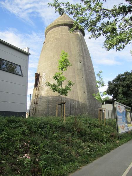 Hochbunker Bauart Winkel