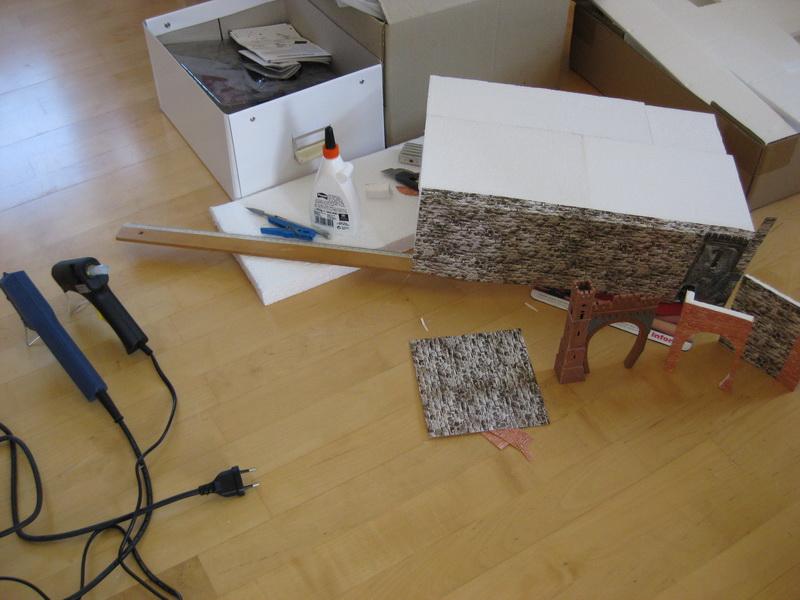Meine letzte Modellbahnanlage-Phase 10