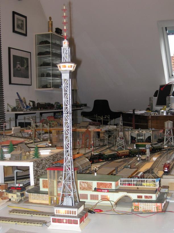Eheim Funk- und Fernsehturm Bausatz Nr. 303