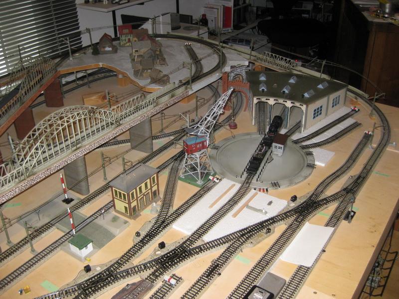 Meine letzte Modellbahnanlage-Phase 6