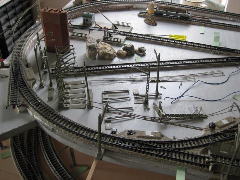 Meine letzte Modellbahnanlage-Phase 9