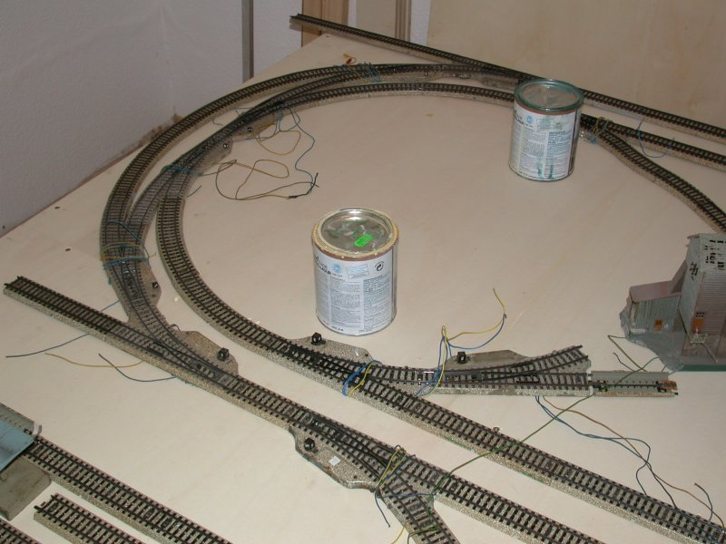 Meine letzte Modellbahnanlage-Phase1