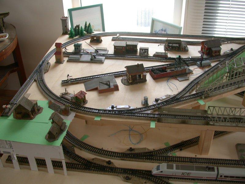 Meine letzte Modellbahnanlage-Phase2
