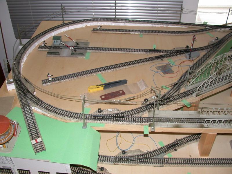 Meine letzte Modellbahnanlage-Phase3