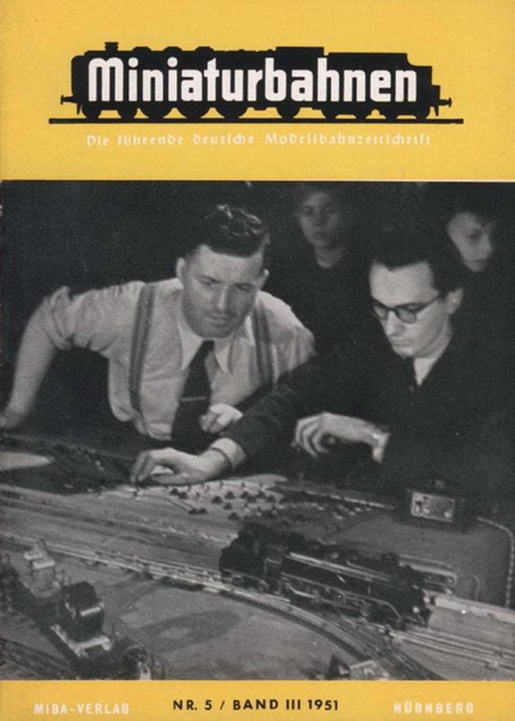 Deckblatt MIBA Nr. 5 / Band III 1951