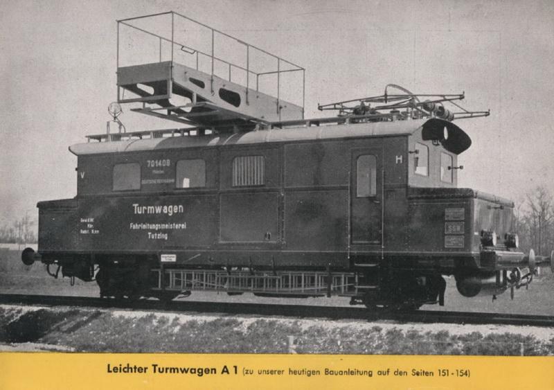 Leichter Turmtriebwagen A 1
