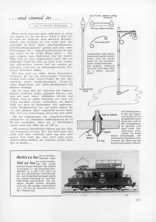Modell Leichter Turmtriewagen A 1