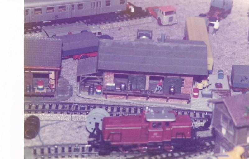 Erste Wiedergeburt meiner Märklin Modelleisenbahn 1979