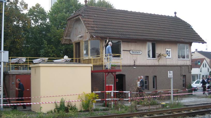 Fahrdienstleiterstellwerk Bahnhof Reinheim