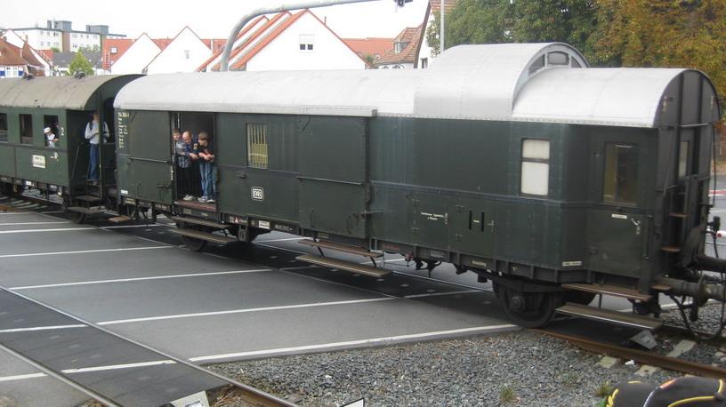 Personenzug - Gepäckwagen