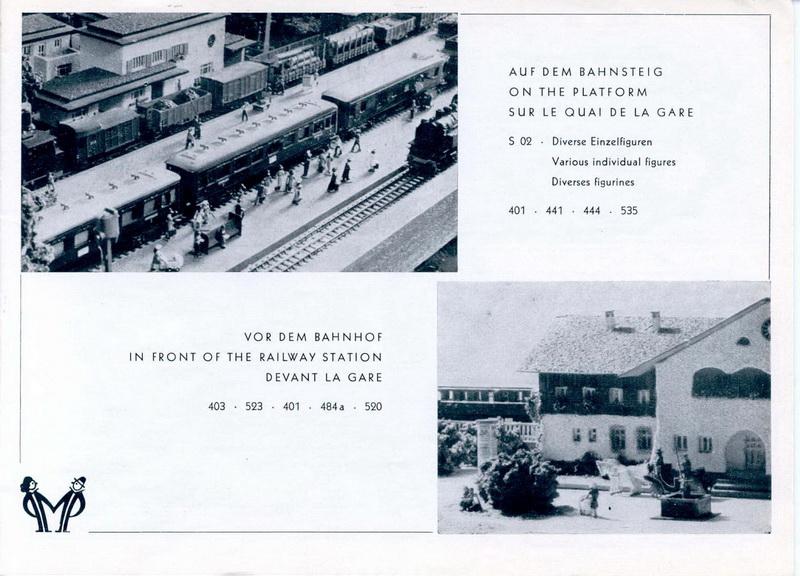 Preiser Katalog 1954