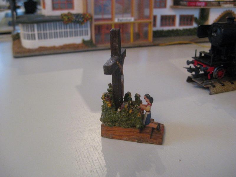 Preiser Zubehör Holzfiguren, Dioramen seit 1949
