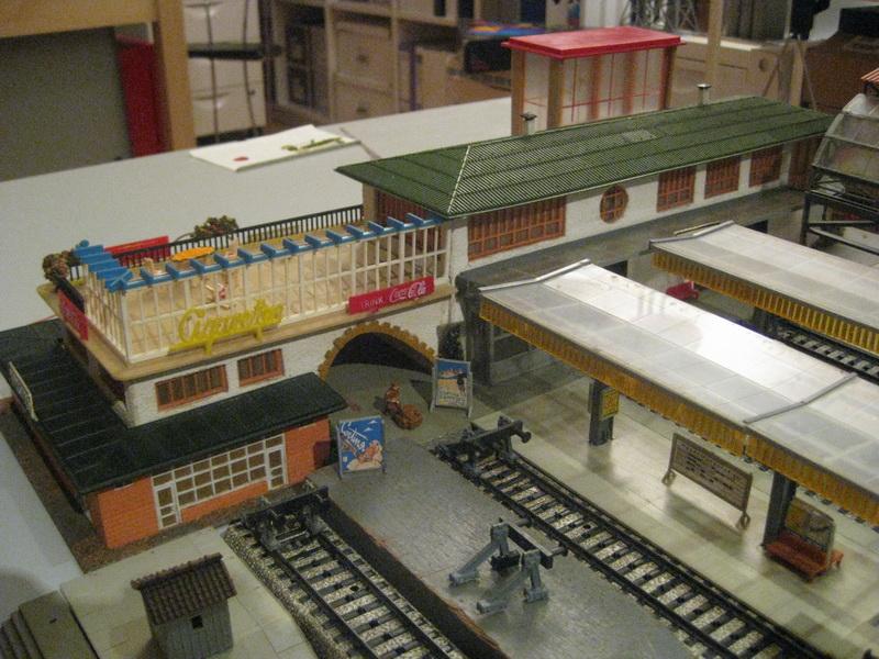 Faller Bahnhof Cortina 113/B-113, 1956
