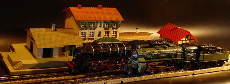 Trix Bayerische S 3/6 - DRG Baureihe 18.4 für Märklin