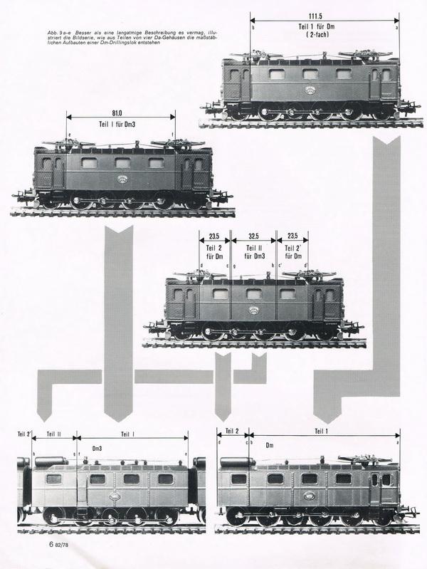 Schwedische Erzbahn-Drillingslok Dm3