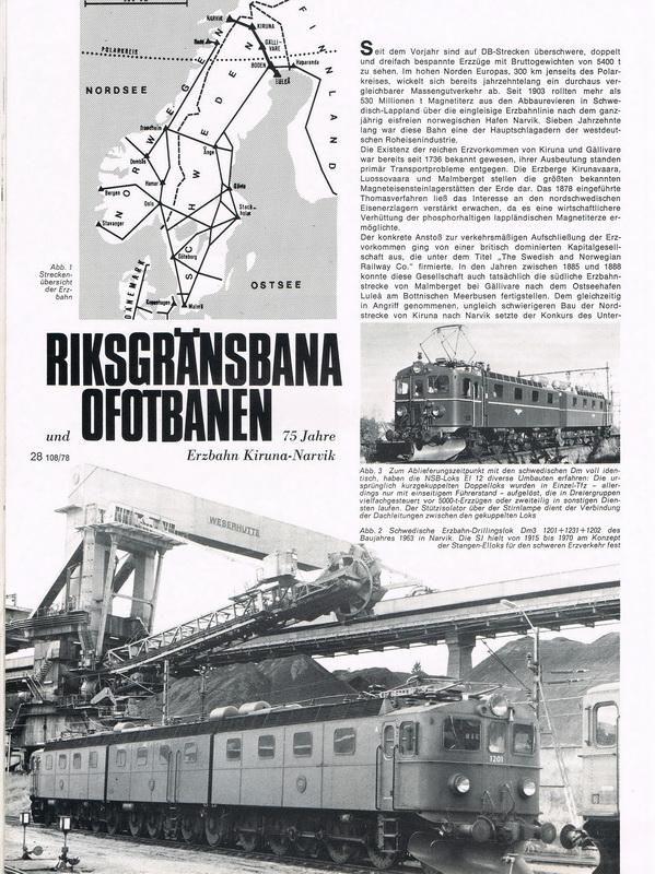 Märklin Magazin 3/78