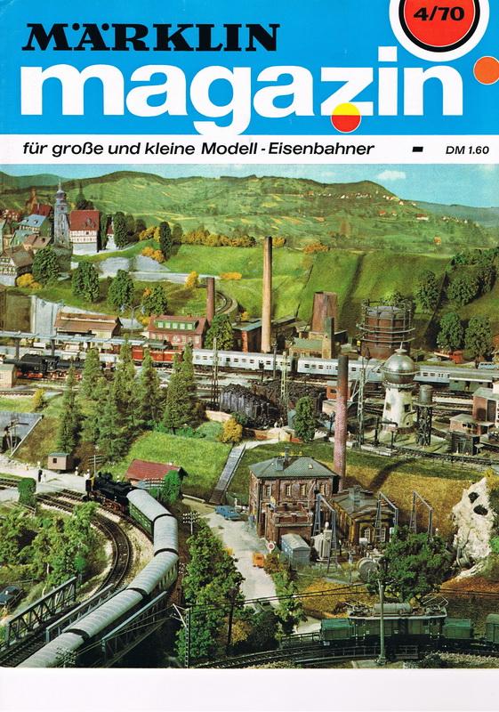 Deckblatt Märklin Magazin 4/70