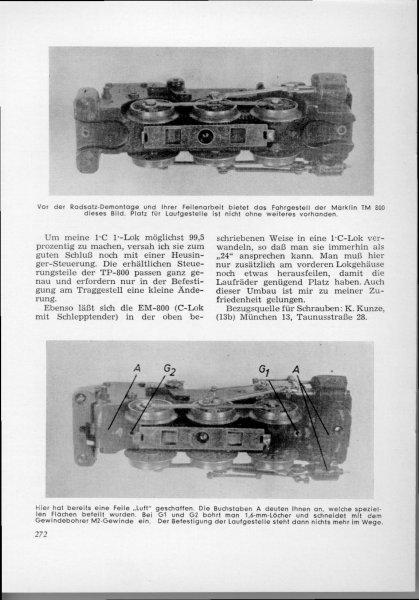 Miniaturbahnen Nr.8 /Band IV 1952, MIBA-Verlag