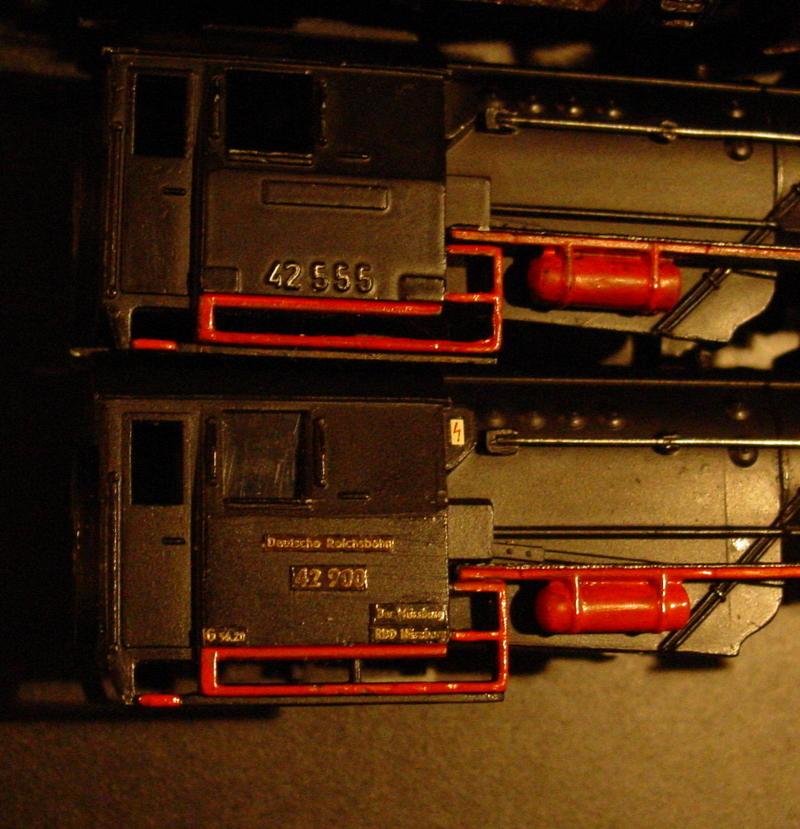 Schnabel Trix Express BR 42 Umbau für Märklin