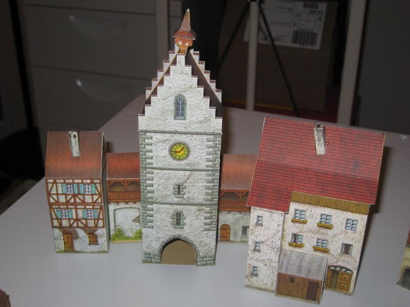 Schreiber-Bogen Kartonmodelle/Papiermodelle