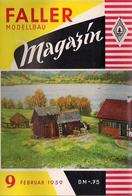 Deckblatt Fallermagazin 9, Februar 1959