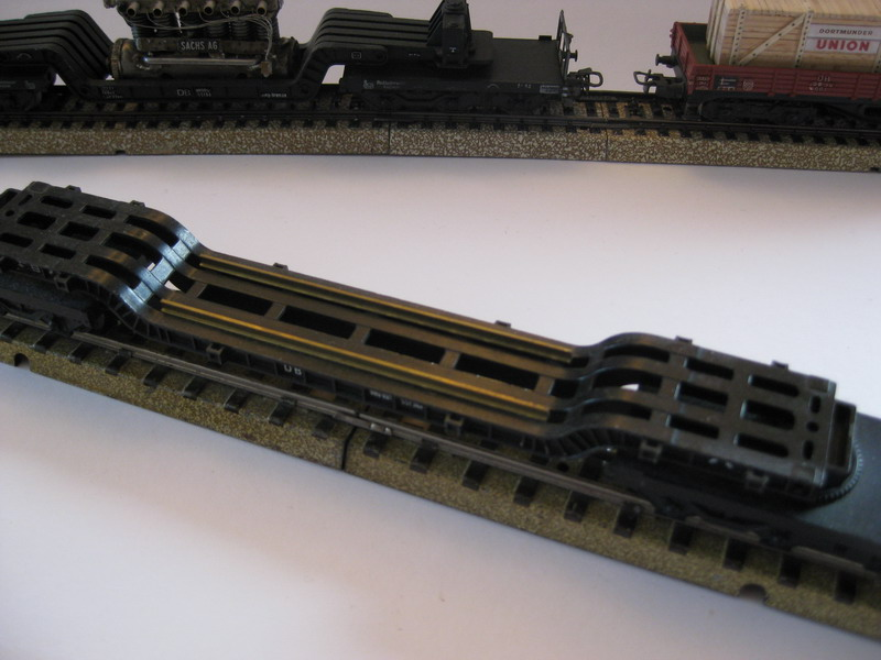 Märklin Selbstbau-Schwertransportwagen