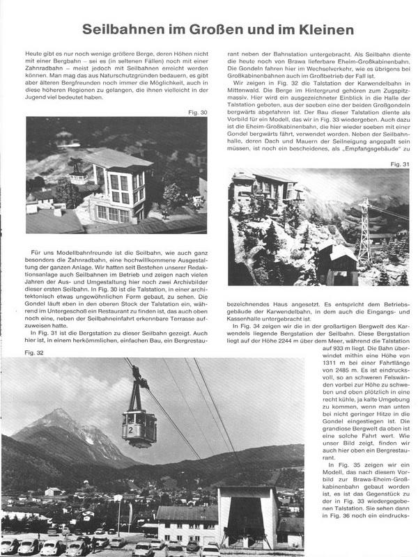 Faller Magazin 97, Oktober 1974