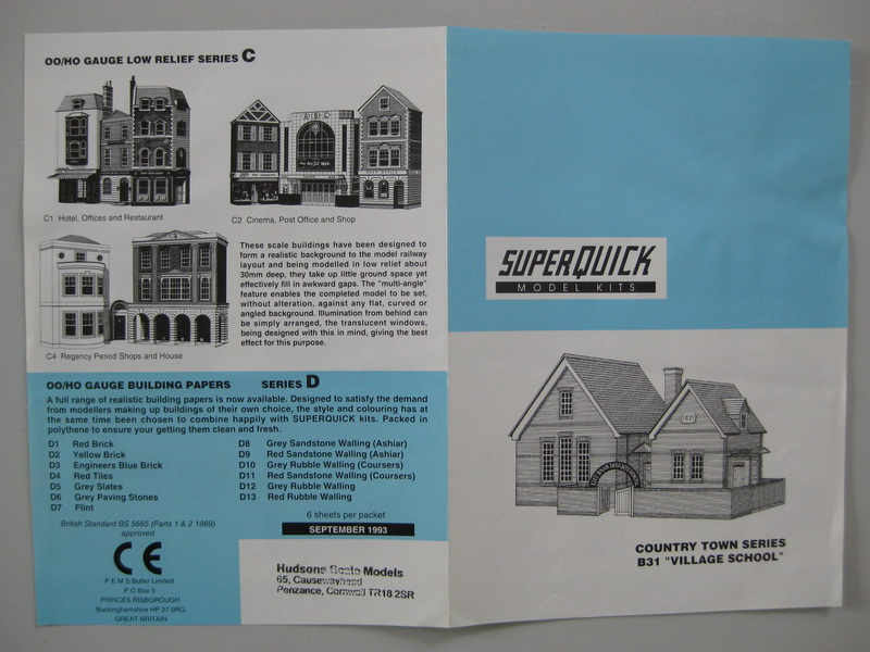 SUPERQUICK Model Kits