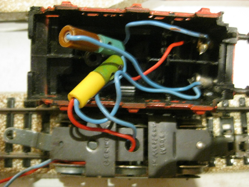 Tenderschluß-Beleuchtung Märklin BR 24