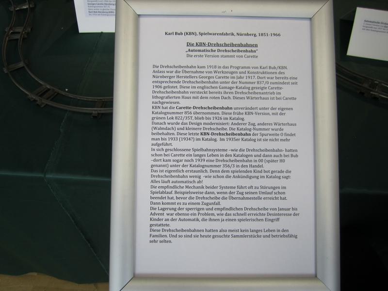 Carette - KBN Drehscheibenbahn