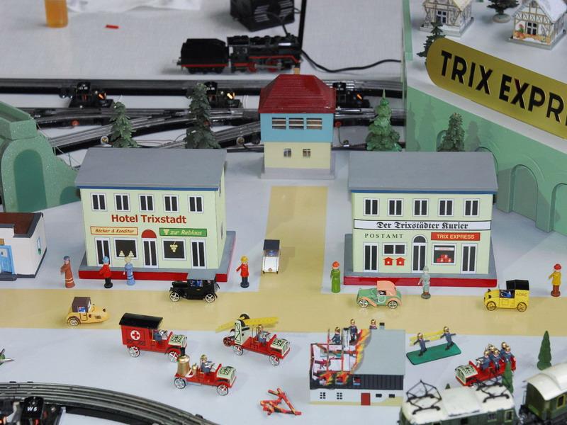 Trix 75 Jubiläum historische Anlage