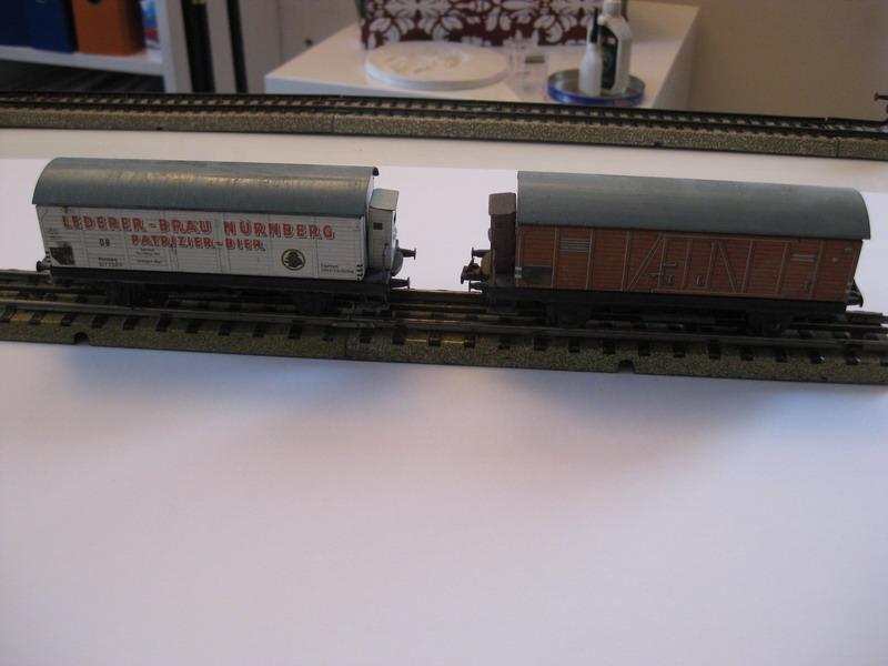 Trix Express Modellgüterwagen 20/80, 20/74